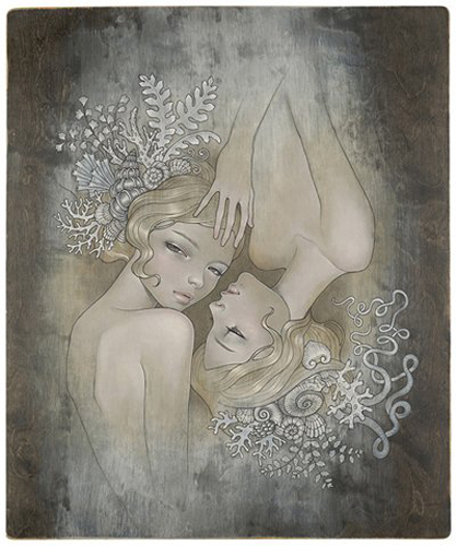 """Two Sisters Ltd. Ed of 1060 giclee, 17"""" x 13"""" (no longer available)"""