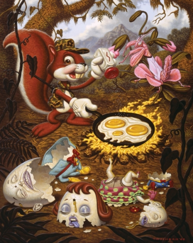 Todd Schorr, THE_EGG_HUNT