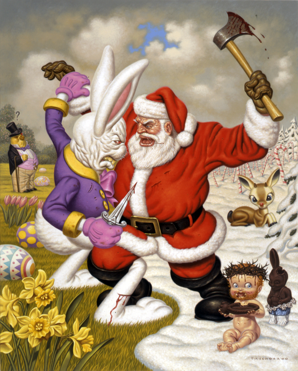 Todd Schorr, Clash of holidays