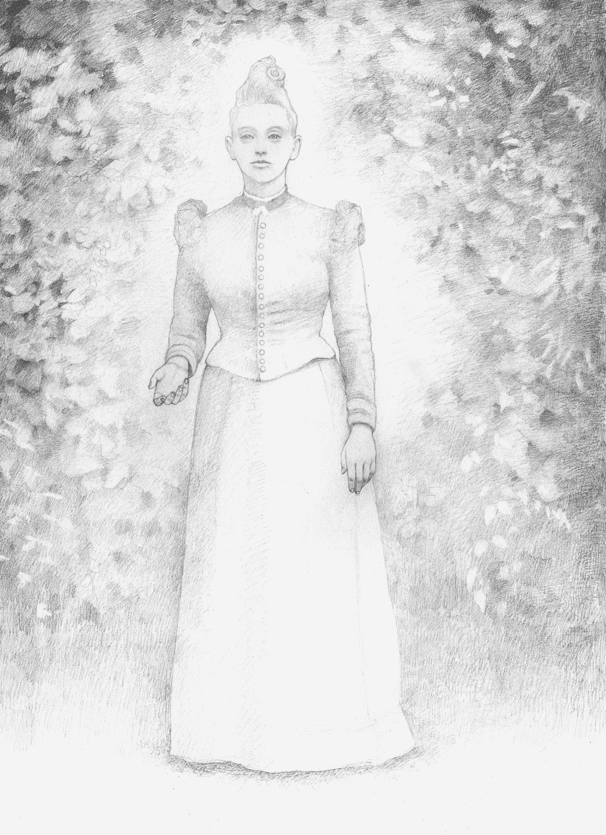 The Ghost of Miss Tappenger, drawing