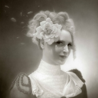 Miss Mary Olmstead and her ghostly petals