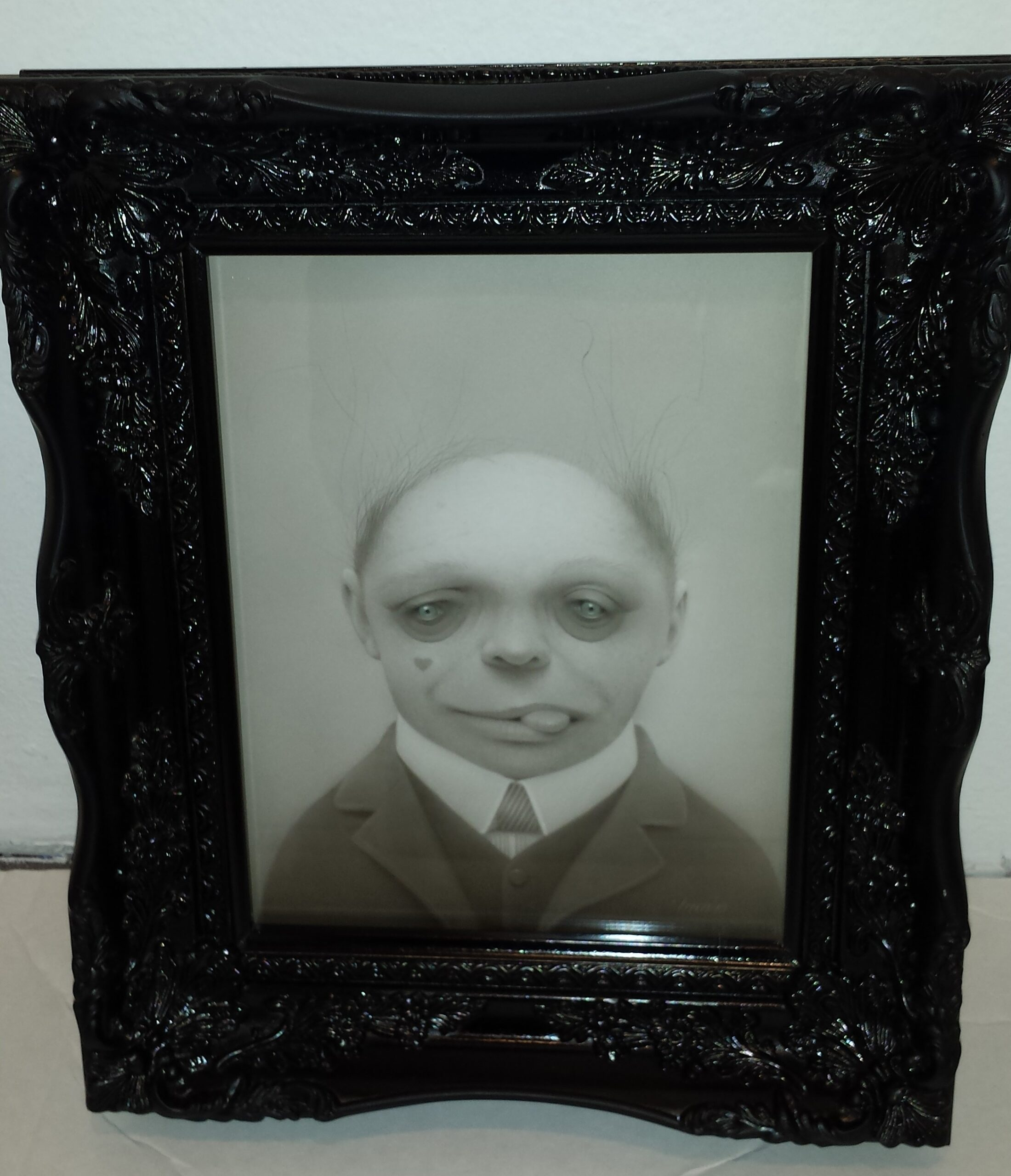 BARNEY THE GHOUL FRAMING EXAMPLE