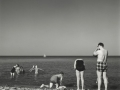 FAMILY ON BEACH 1960, 12 X 12 IN (IMAGE), 20 X 16 IN (PAPER) MODERN GELATIN SILVER PRINT, LTD. ED. OF 15 0113623