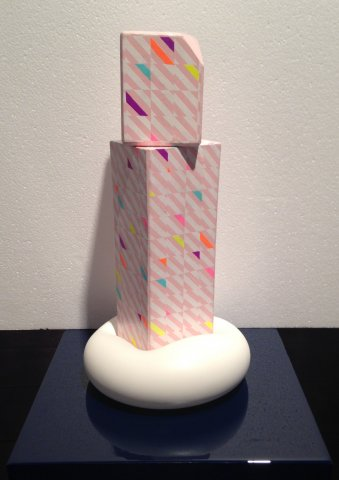 Stacked-Plaster-Sculpture