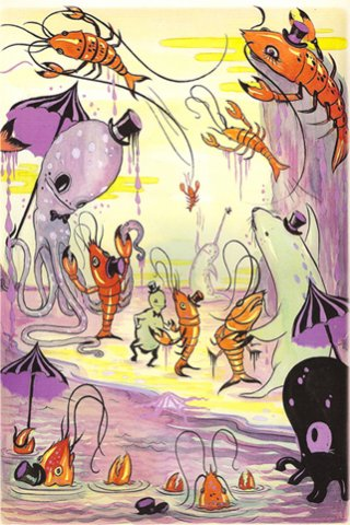 """THE LOBSTER QUADRILLE 2010, LIMITED EDITION GICLÉE, EDITION OF 100, 17"""" X 12"""""""