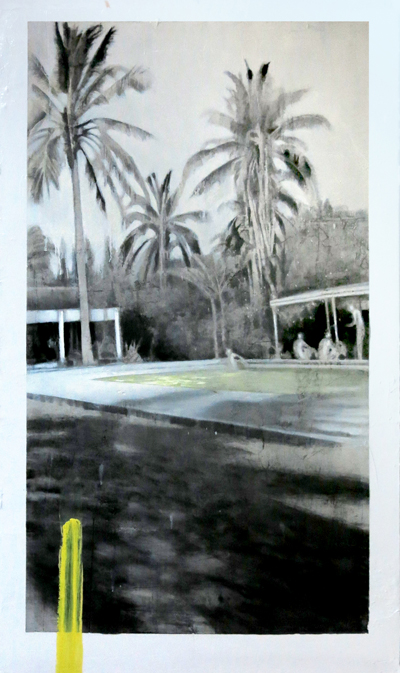 Palm Trees with Pool