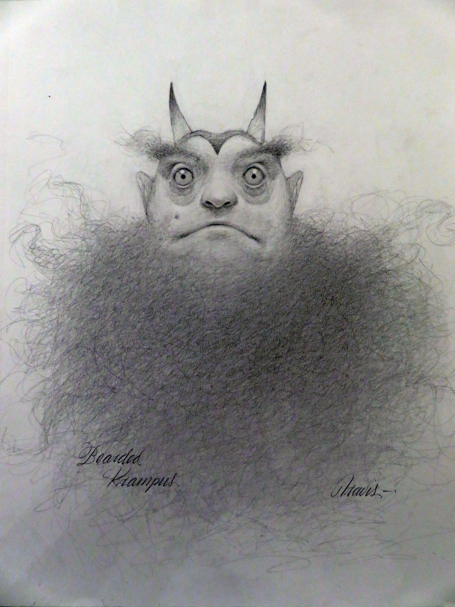 Bearded Krampus