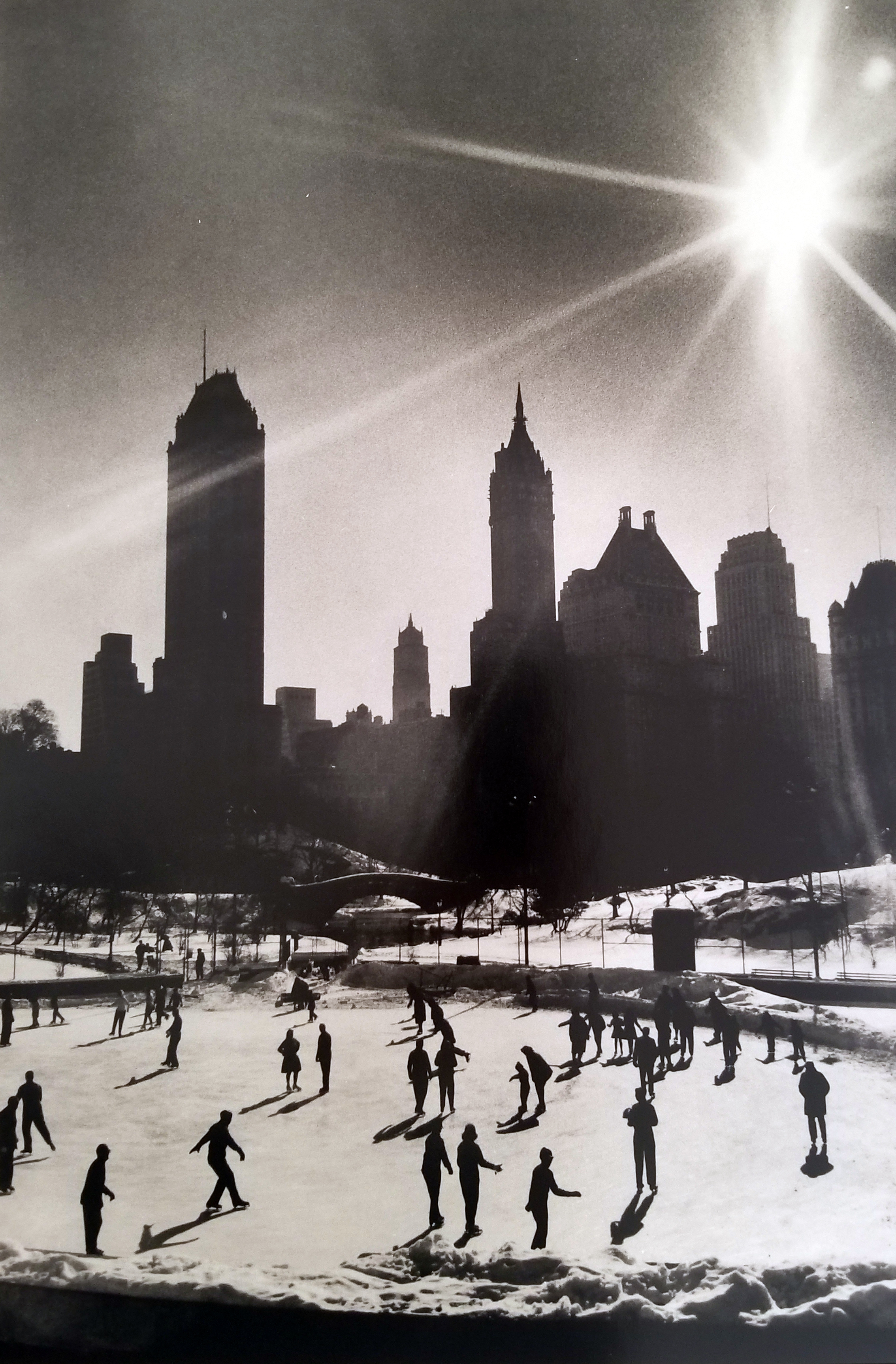 Wolhman's Skating Rink, Central Park, 1967