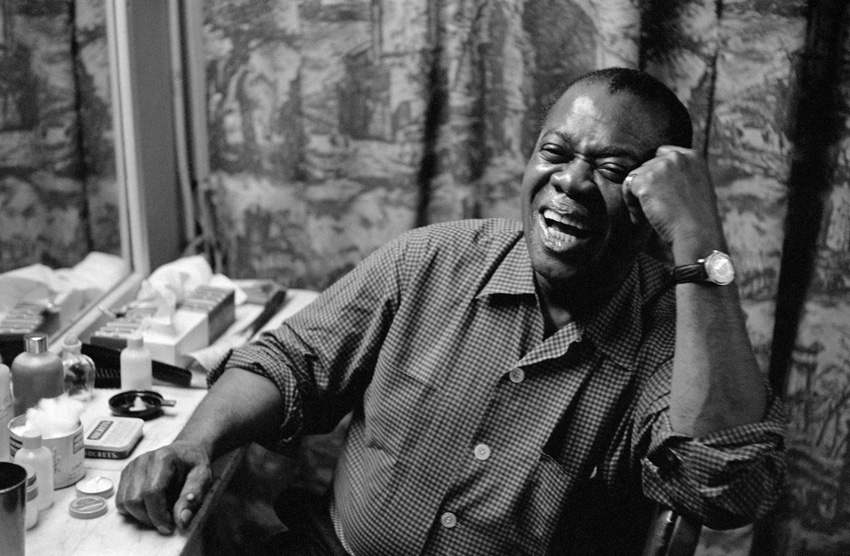 Louis Armstrong, NYC, 1958