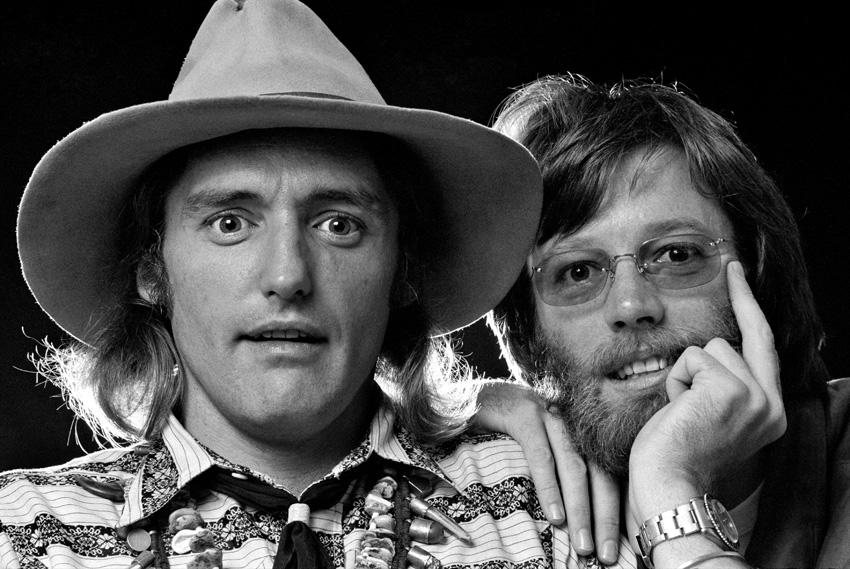 Dennis Hopper and Peter Fonda, 1969