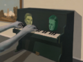 Little Green Piano